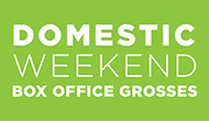 Domestic Weekend Box Office Grosses